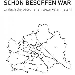 Wo ich in Wien schon besoffen war Poster