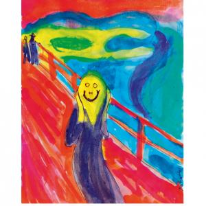 Matrattel Der Schrei Poster