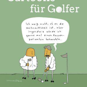 Cartoons für Golfer Buchcover Holzbaum Verlag