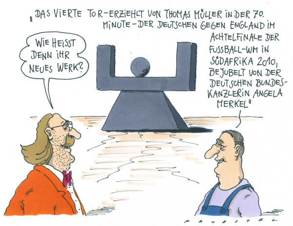 Torjubel Andreas Prüstel