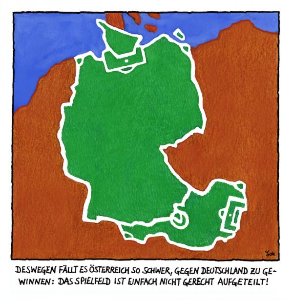 Daniel Jokesch - Ungerechte Spielfeld-Aufteilung
