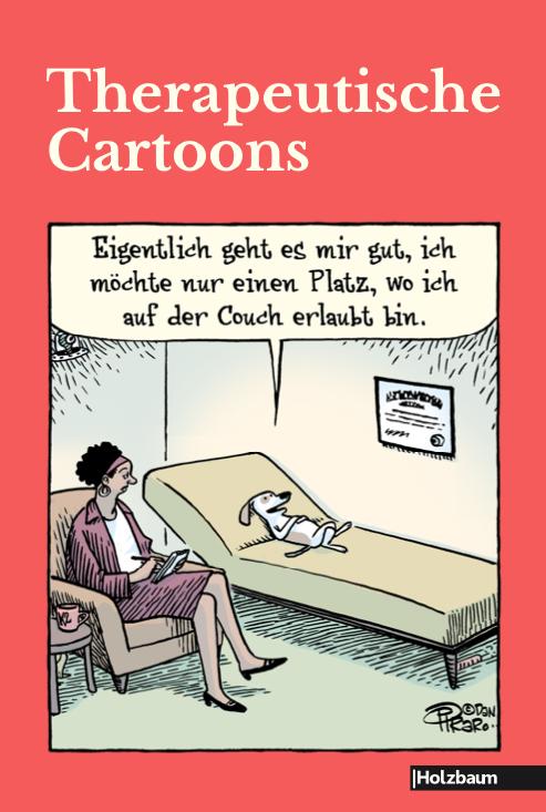 Therapeutische Cartoons Holzbaum Verlag Komische Künste Wien