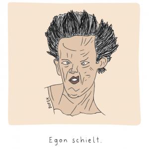 Michael Dufek - Egon schielt