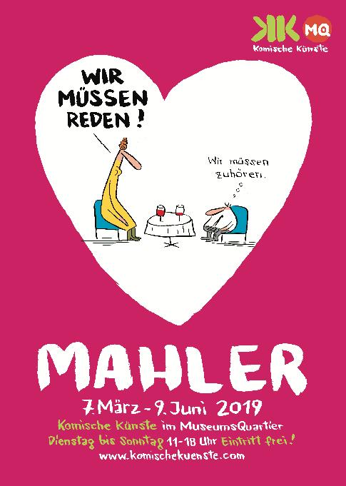 Nicolas Mahler Wir müssen reden! Galerie der Komischen Künste MuseumsQuartier
