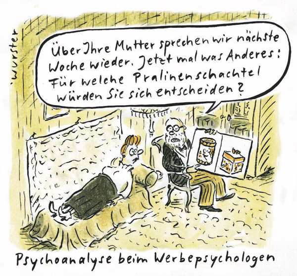Miriam Wurster - Beim Werbepsychologen