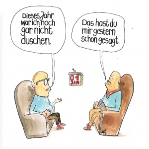 Michi Brezel Duschen Komische Künste WIen Holzbaum Verlag