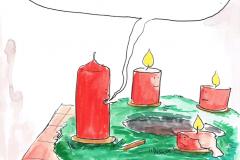Michi-Brezel-Adventskranz