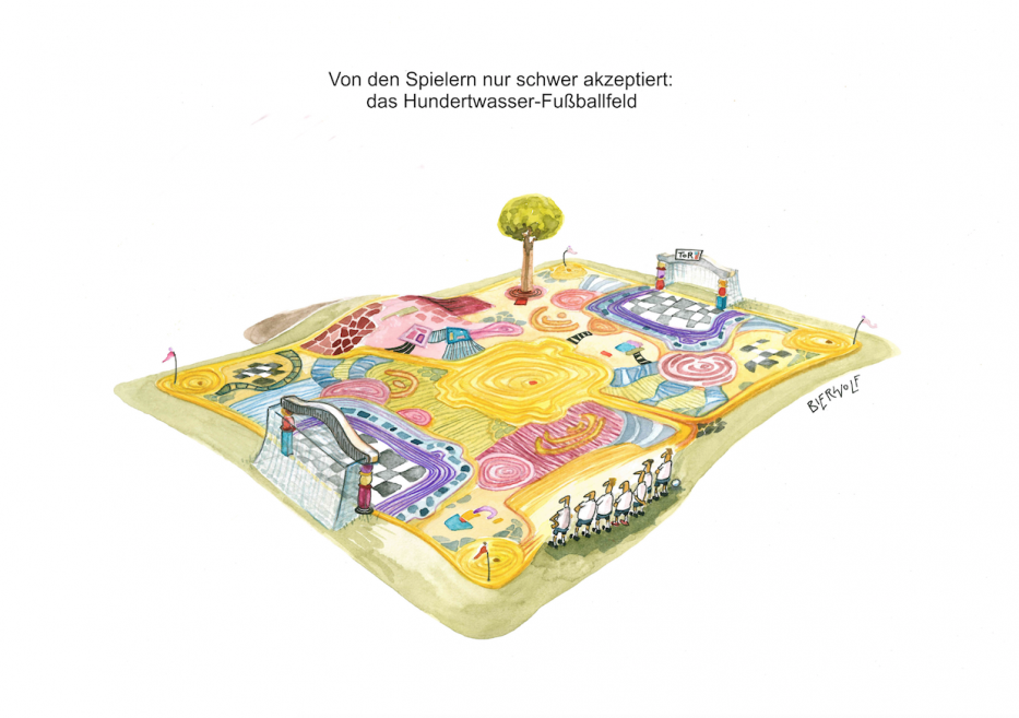 Axel Bierwolf - Hundertwasser Fussballfeld